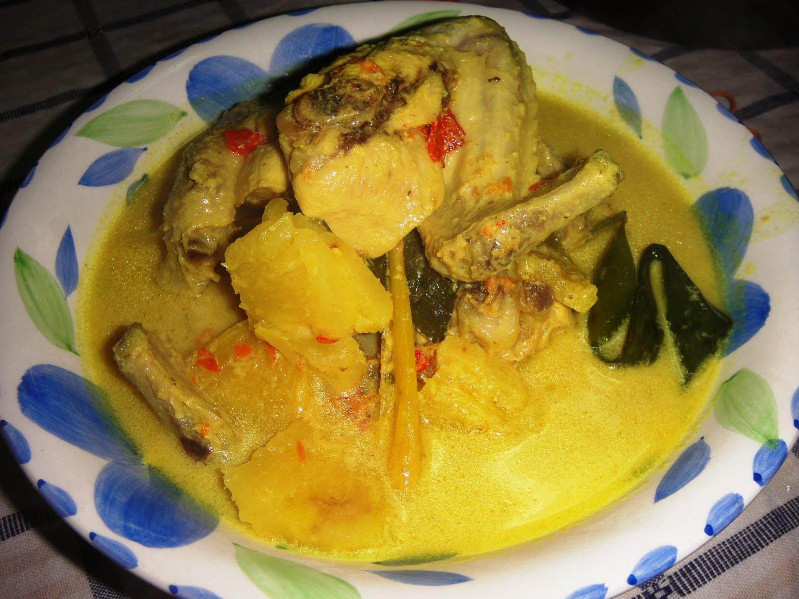 Ayam Masak Lemak Cili Padi