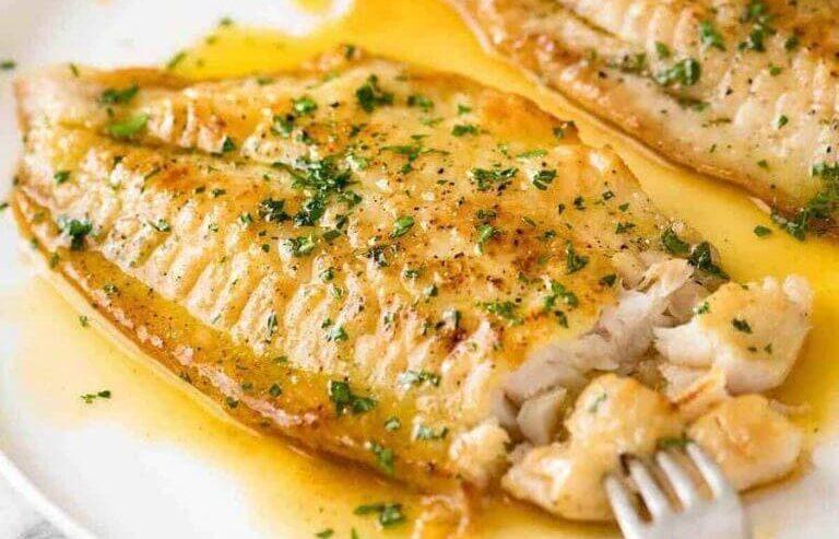 Fish Fillet with Lemon Butter