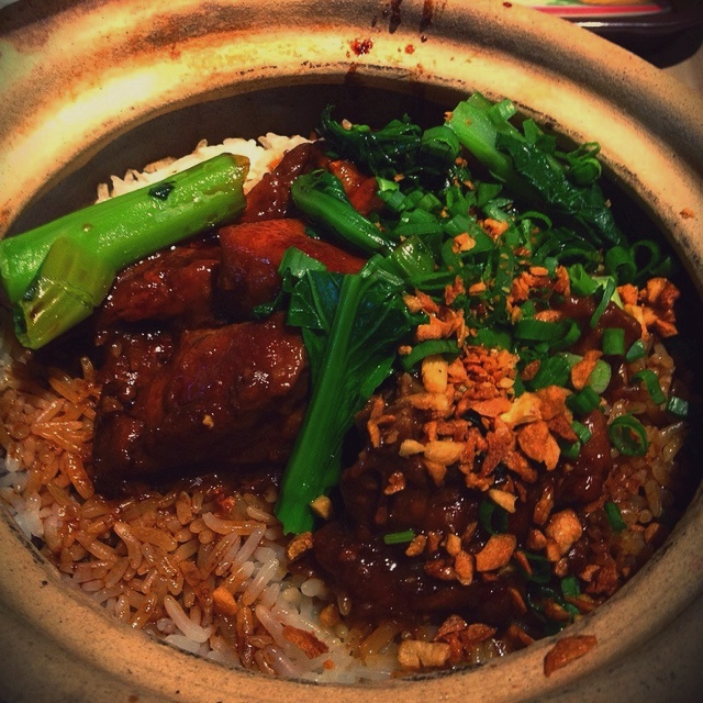 How to cook Claypot Chicken Rice w-Salted Fish