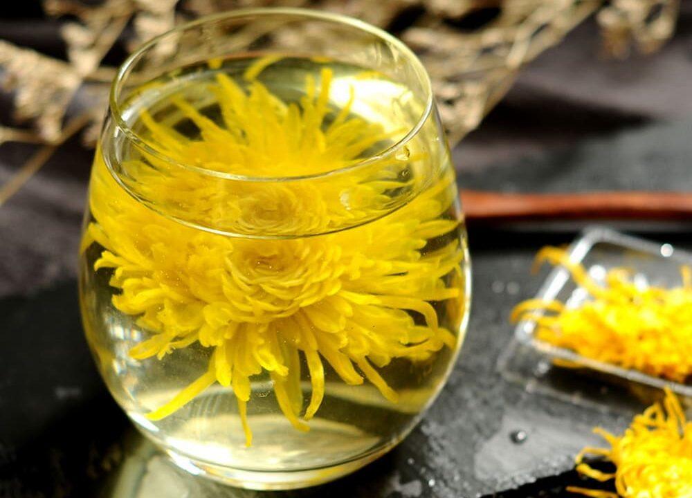 Iced Chrysanthemum Tea