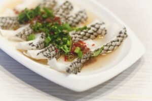 Chinese style Steamed Cod with Bean Paste