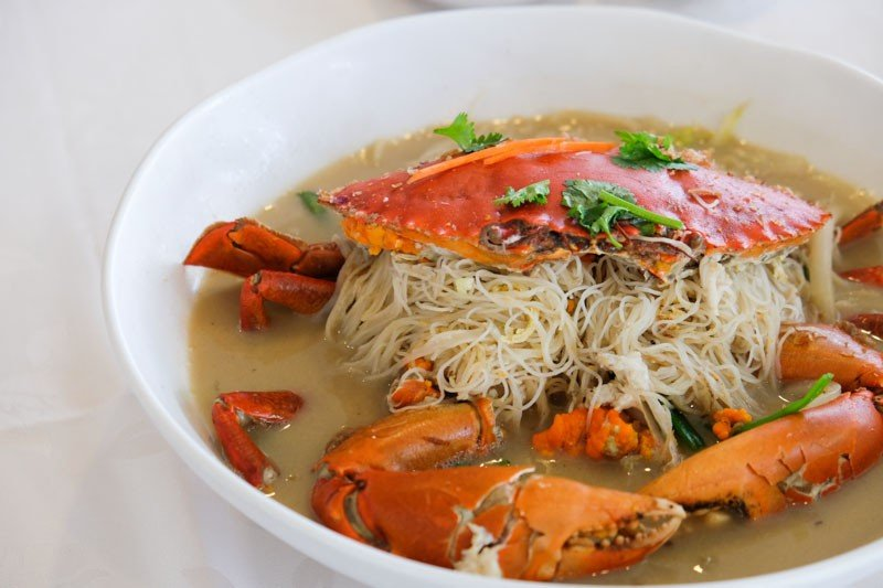 Curry Crab with Vermicelli