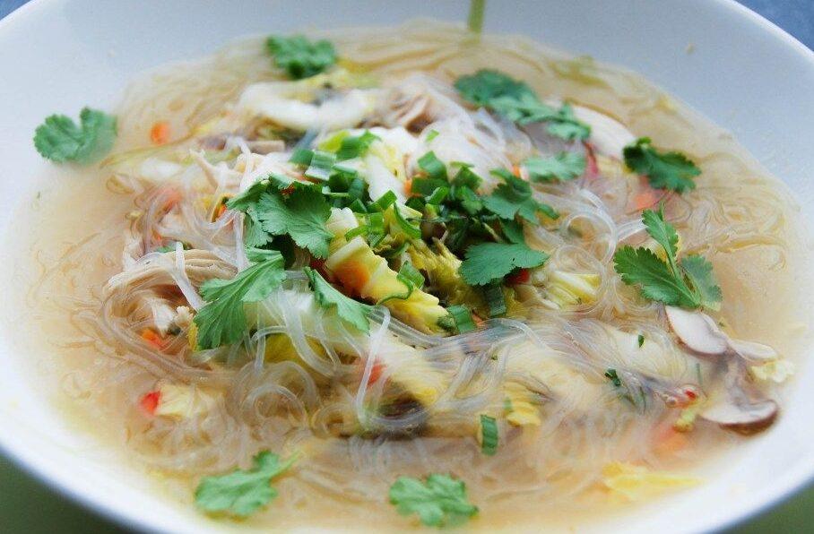 Thai Glass Noodle Soup