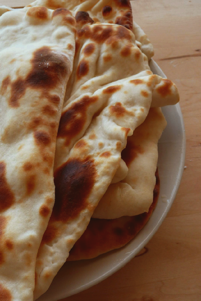How to make Garlic Naan Bread