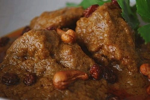 Malay Wedding Menu & Recipes - Beef, Mutton Briyani