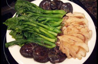 Sliced Abalone & Shitake Mushrooms