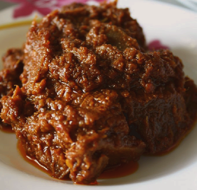 Malay Wedding Menu - Beef Rendang