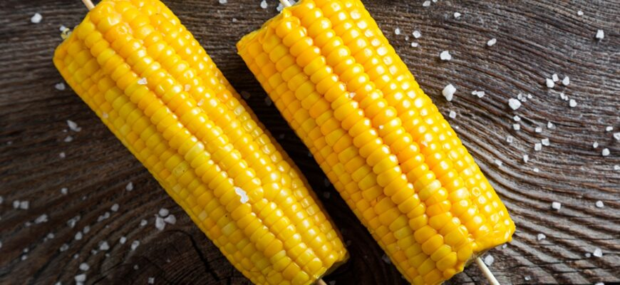 Corn on the cob the KFC