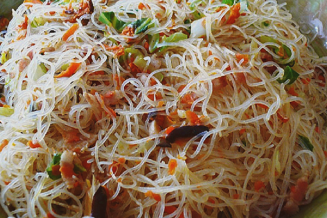 How to cook fried Vegetarian Bee Hoon