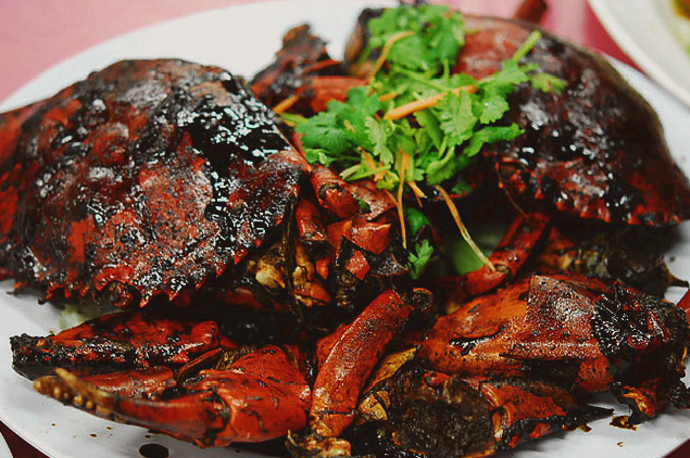 Singapore Black Pepper Crab