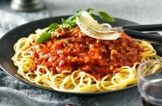 Spaghetti Bolognese Meat Sauce