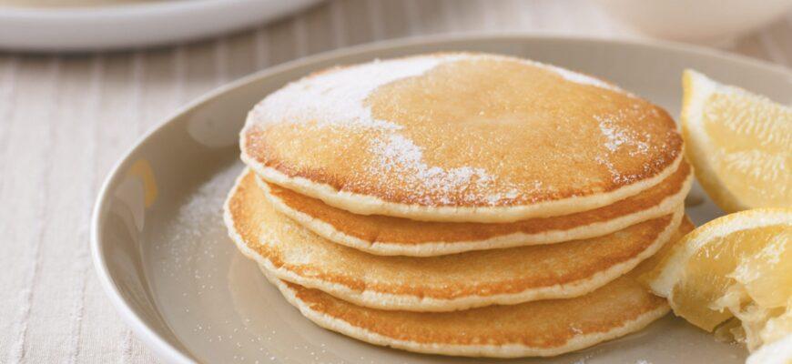 Fried dough pancakes