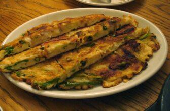 Korean Mung Bean Pancake