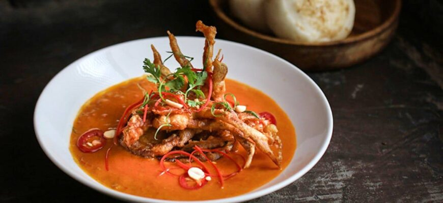 Malay Hot Curried Crab