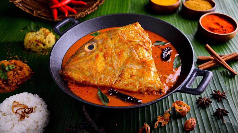 Singapore Fish Head Curry