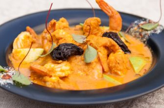 Saigon Prawn Curry with Basil