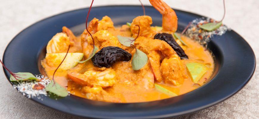 Saigon Prawn Curry with Basil