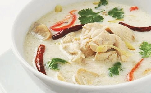 Tom Kha Kai - Chicken in coconut soup