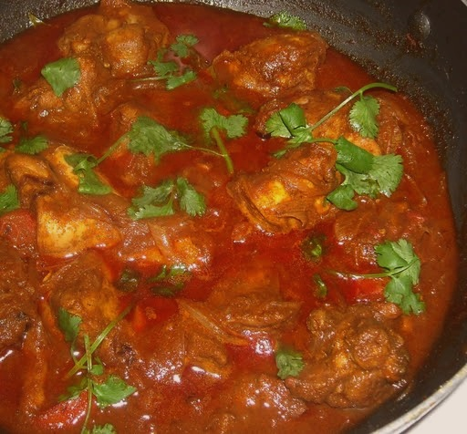 Malay Wedding Food: Ayam Masak Merah (Spicy Tomato
