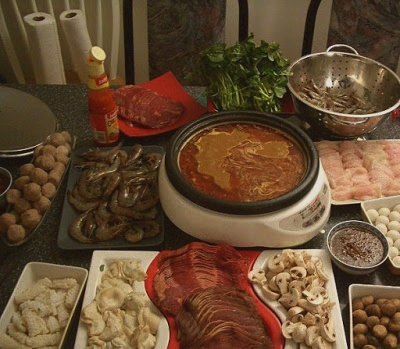 Steamboat Ingredients, Marinade, Stock, Dipping Sauces and Condiments (Recipe)