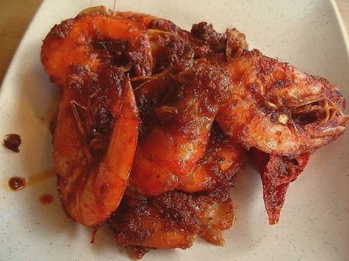 Spicy Shrimp Recipe (Sambal Udang)